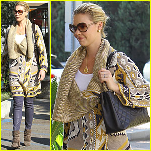 Katherine Heigl: Trattoria Lunch!