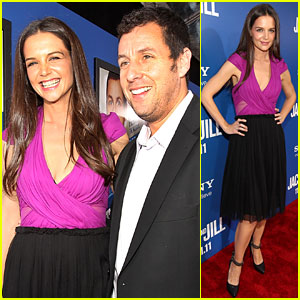 Katie Holmes: 'Jack and Jill' Premiere with Adam Sandler!