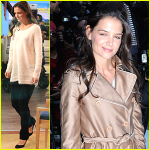 Katie Holmes: 'Jack and Jill' at GMA