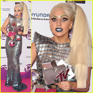 Lady Gaga: 'Marry The Night' MTV EMAs 2011 Performance!