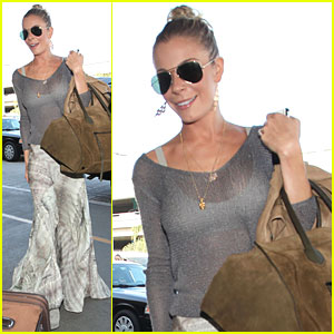 LeAnn Rimes Leaves LAX Airport