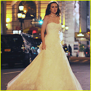 Leighton Meester: Wedding on Gossip Girl!