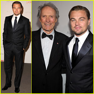 Leonardo DiCaprio: LACMA Gala with Clint Eastwood!