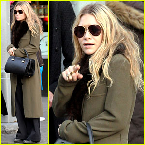 Mary-Kate Olsen: Bundled Up in the East Village