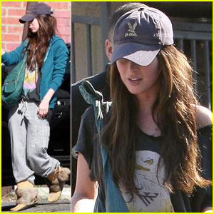 Megan Fox: Lunch at Larchmont Bungalow
