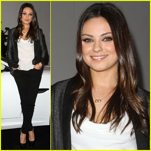 Mila Kunis: Jaguar Land Rover VIP Reception!