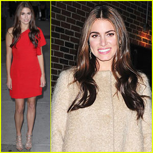 Nikki Reed: 'Late Show with Letterman' Visit!
