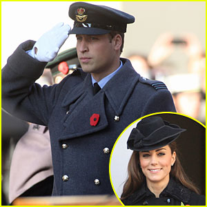 Prince William & Duchess Kate: Remembrance Day Duo
