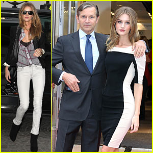 Rosie Huntington-Whiteley Relaunches Marks & Spencer in Paris