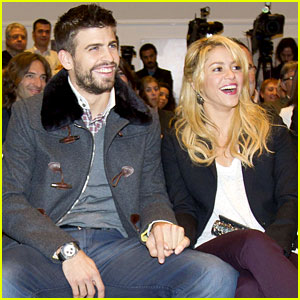Shakira & Gerard Pique: Book Launch Lovebirds!