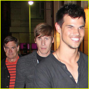 Taylor Lautner & Gus Van Sant: Film Project Coming!