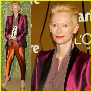 Tilda Swinton: 'Marie Claire' Awards Honoree!