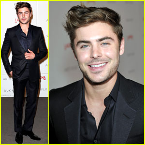 Zac Efron: LACMA Gala to Honor Clint Eastwood!