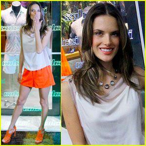 Alessandra Ambrosio: Colcci Launch in Chile!