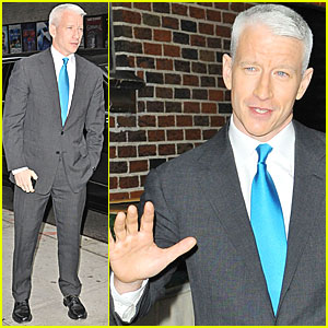 Anderson Cooper: 'Late Show' Visit!