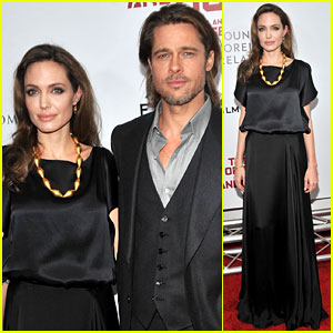 Angelina Jolie & Brad Pitt: 'Blood & Honey' Premiere Pair!