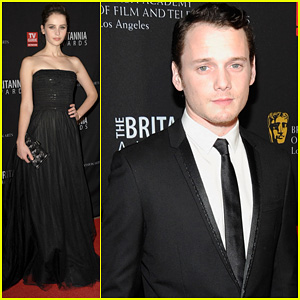 Anton Yelchin & Felicity Jones: 2011 BAFTA Britannia Awards!