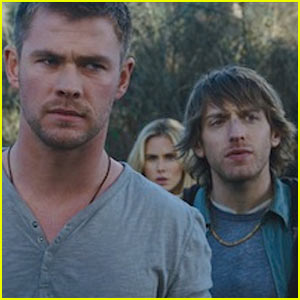 Chris Hemsworth: 'Cabin in the Woods' Trailer!