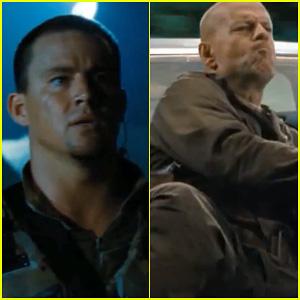 Channing Tatum & Bruce Willis: 'G.I. Joe 2 - Retaliation' Trailer!