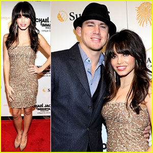 Channing Tatum: 'Immortal' World Tour with Jenna Dewan!