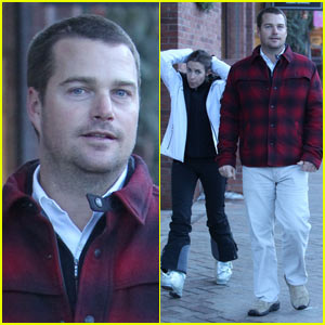 Chris O'Donnell: Colorado Vacation with Family!