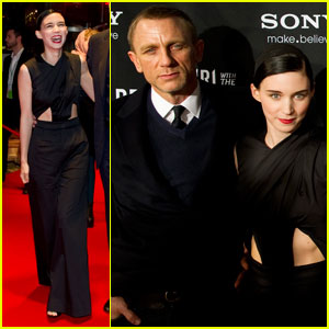 Daniel Craig & Rooney Mara: 'Dragon Tattoo' in Sweden!
