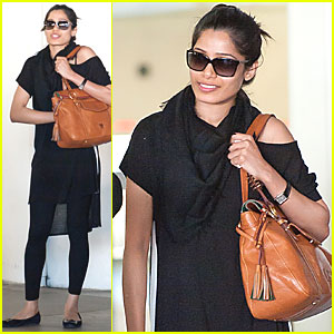 Freida Pinto: I Enjoy Movies Like '300' and 'Gladiator'!