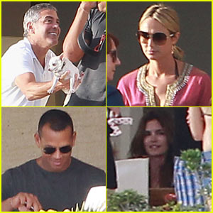 George Clooney: Cabo with Stacy Keibler!