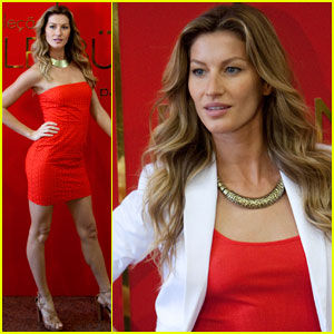 Gisele Bundchen: C&A Collection Presentation!