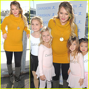 Hilary Duff & Danskin Skate for a Cause