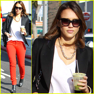Jessica Alba: Pasta Association Chosen Celebrity!