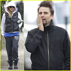 Kate Hudson & Matt Bellamy Work It Out in London
