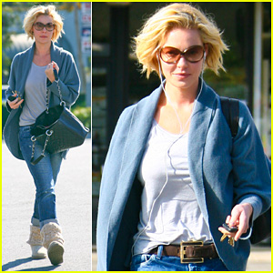 Katherine Heigl: Nail To Toe Rescue!