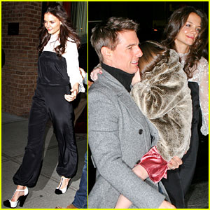 Katie Holmes: Birthday Celebration with Tom Cruise & Suri!