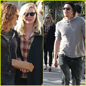 Kirsten Dunst & Garrett Hedlund: Lunch Time Twosome!