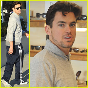 Matt Bomer: Sunglasses Shopping!
