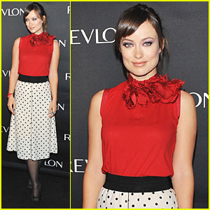 Olivia Wilde: Revlon Product Launch in NYC!