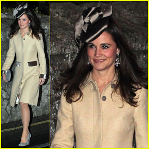 Pippa Middleton: Friend's Wedding in Suffolk!