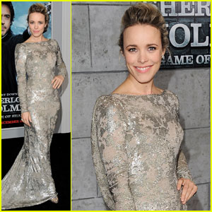 Rachel McAdams: 'Sherlock Holmes 2' Premiere!