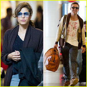 Ryan Gosling & Eva Mendes: New Year's Eve, Here We Come!