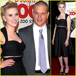 Scarlett Johansson & Matt Damon: 'We Bought A Zoo' Premiere!