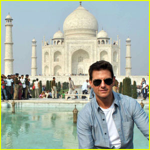 Tom Cruise: Taj Mahal Visit in India!