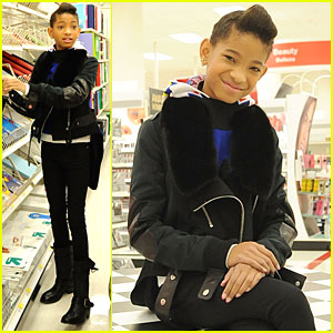 Willow Smith &#038; Boys &#038; Girls Club: Target Shopping Spree!