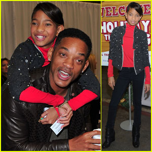 Will &#038; Willow Smith: Holiday in the Hangar!