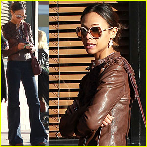 Michael Vartan: Zoe Saldana Is Elegant & Strong!