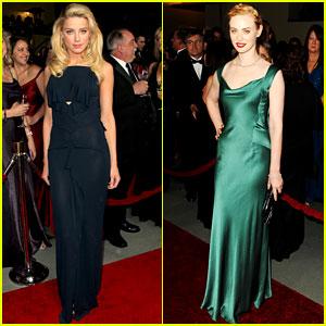 Amber Heard & Deborah Ann Woll: DGA Awards!