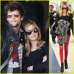 Ashley Tisdale & Martin Johnson: Back in L.A.