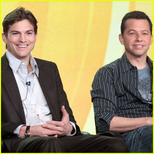 Ashton Kutcher Shaves Beard for 'Two & A Half Men'
