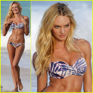 Candice Swanepoel Bares Her Bikini Bod in St. Barts