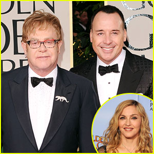 David Furnish Explains Madonna Comments